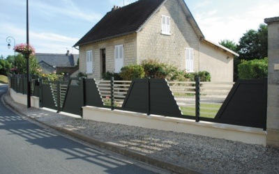Portails de maison à Lausanne