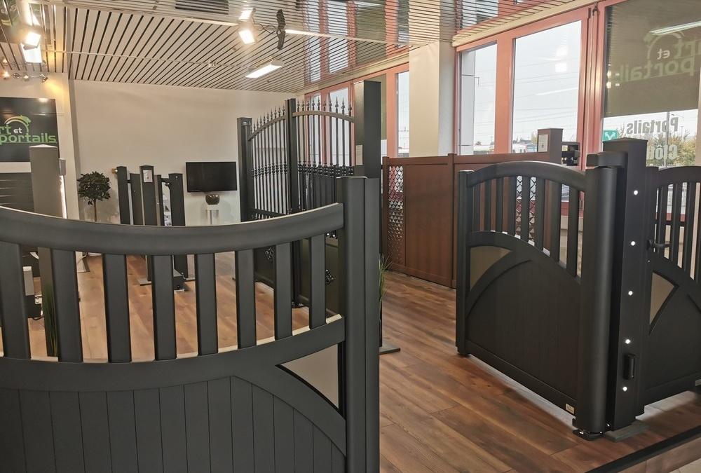 Showroom de portails et garde-corps